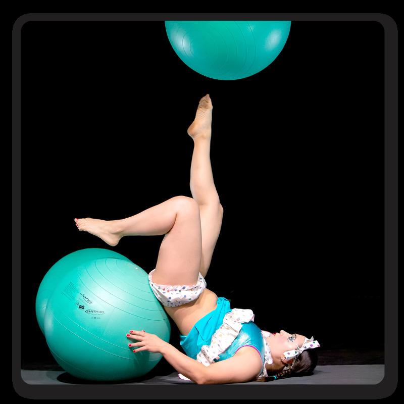 Tatiana Konoballs - Gym Balls